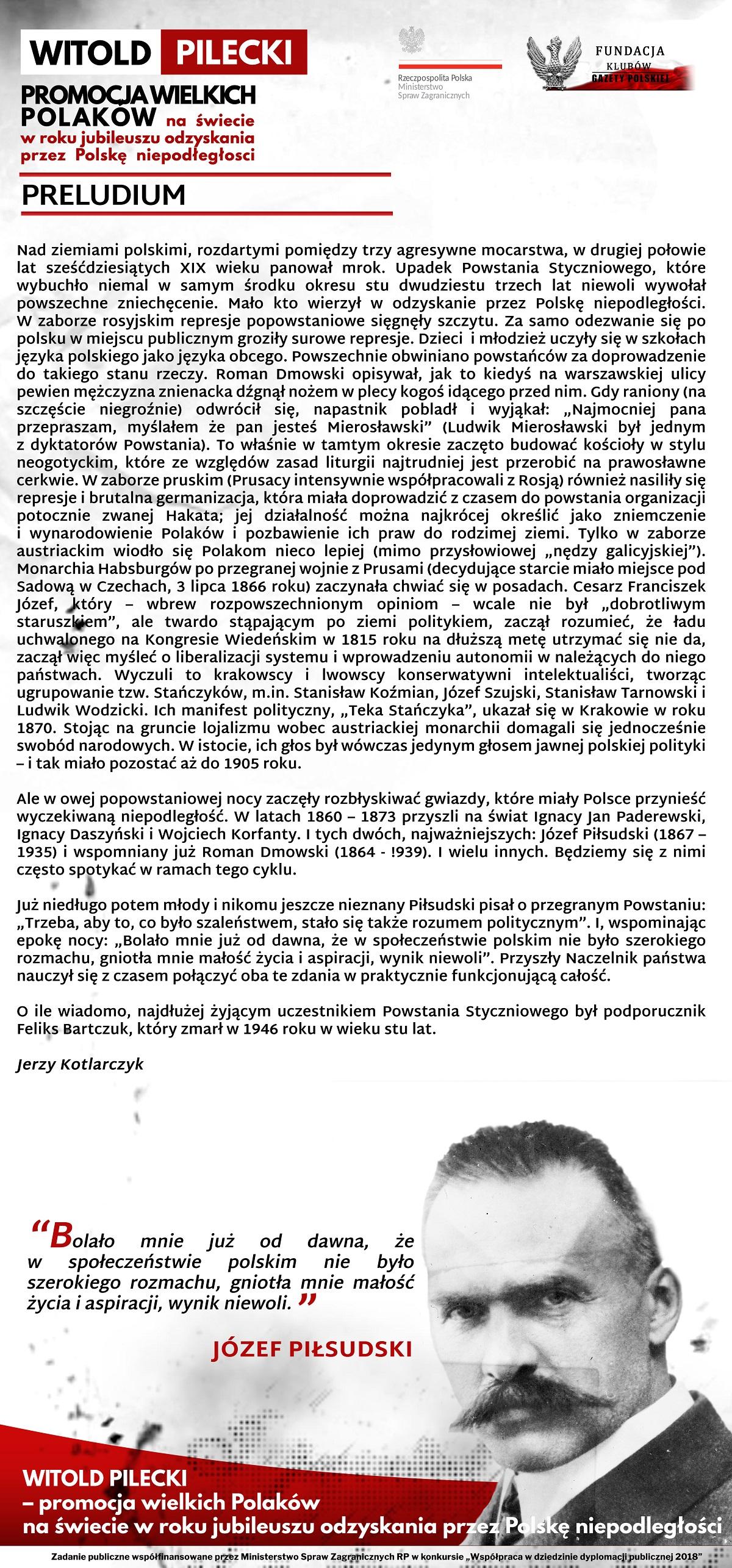 Artukul (1) J. Pilsudski