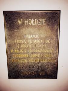 """Pomnik poświęcony zrywom niepodległościowym w Gminie Wielgomłyny  (foto. Fundacja Klubów """"GP"""")"""