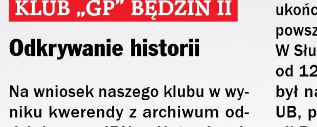 Będzin II: Odkrywanie historii