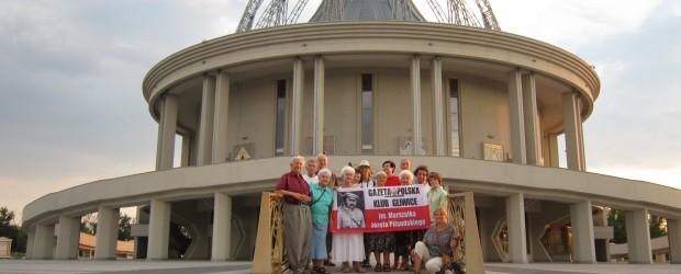 Gliwice: Pielgrzymka do Sanktuarium  p.w. Maryi Gwiazdy Nowej Ewangelizacji i św. Jana Pawła II w Toruniu