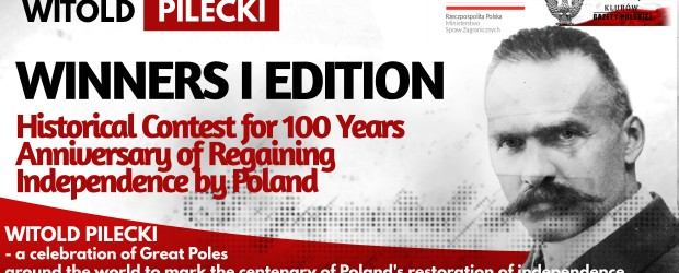 The Winners – I edition Historical Contest for 100 Years Anniversary of Regaining Independence by Poland