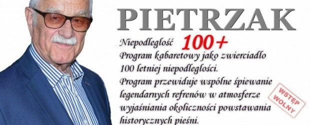STAROGARD GDAŃSKI – koncert Niepodległość 100+ z Janem Pietrzakiem, 12 sierpnia (wideo)