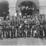 Sztab oficerów legionowych, ze zbiorów Narodowego Archiwum Cyfrowego