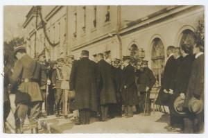 Józef Piłsudski w Kielcach. Cyfrowa Biblioteka Narodowa Polona