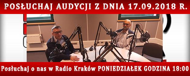 """POSŁUCHAJ AUDYCJI: """"Radiowy Klub Gazety Polskiej"""" – 17.09.2018 r.(audio)"""