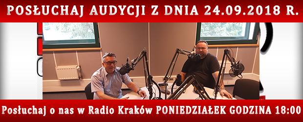 """POSŁUCHAJ AUDYCJI: """"Radiowy Klub Gazety Polskiej"""" – 24.09.2018 r.(audio)"""