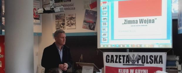 Gdynia: Spotkanie z dr Aleksandrem Kozickim