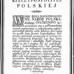 konstytucja marcowa  Źródło: Wikimedia Commons, domena publiczna.