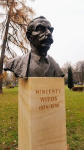 """Popiersie Wincentego Witosa w Parku Jordana w Krakowie (Foto. Fundacja Klubów """"Gazety Polskiej"""")"""
