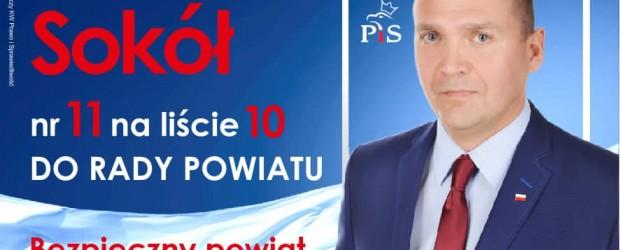 Wybory samorządowe 2018 – BRANIEWO Marek Sokół