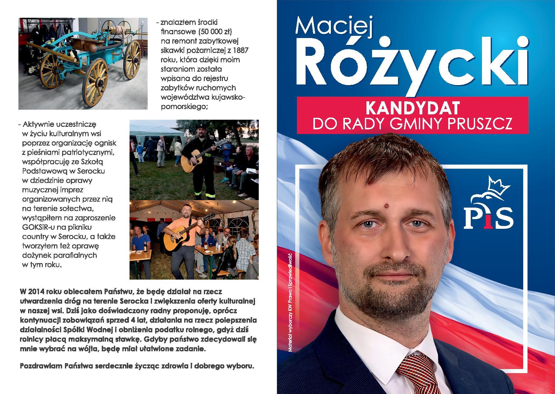 Bydgoszcz - Rozycyki WS2018