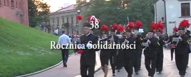 Kraków: 38 Rocznica Solidarności