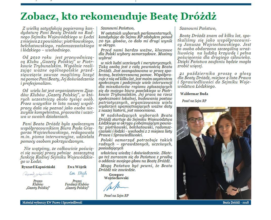 Piotrkow Tryb - Beata Drozdz WS2018 (3)