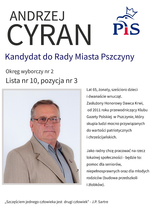 Pszczyna - Cyran WS2018