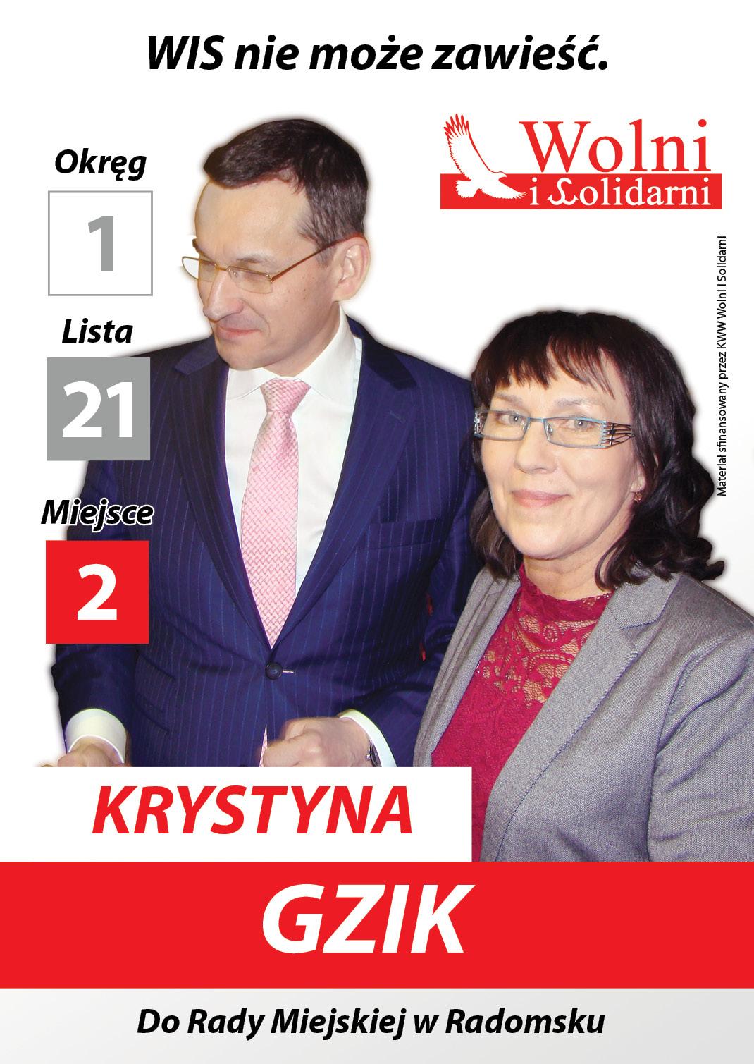 Radomsko Gzik WS2018