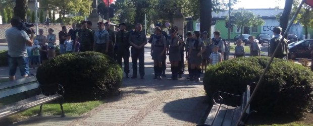 """Rypin: 74 rocznica Powstania Warszawskiego w godzinę """"W"""""""