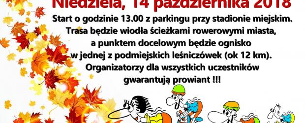 Starogard Gd.: Zaproszenie na jesienny rajd rowerowy (14 października godz.13:00)