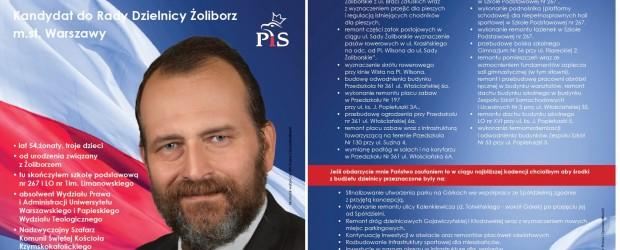 Wybory samorządowe 2018 – WARSZAWA BIELANY-ŻOLIBORZ