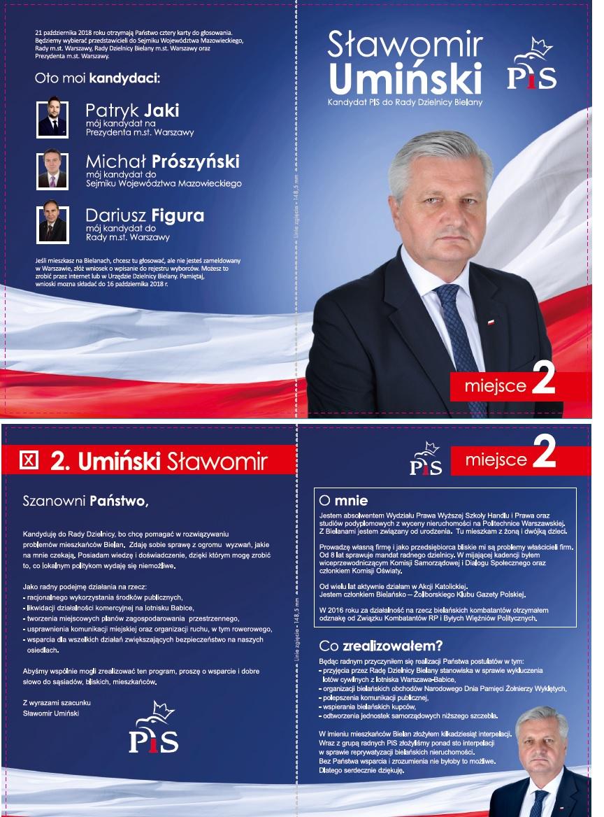 Warszawa Umiński WS2018