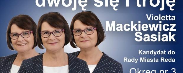 Wybory samorządowe 2018 – WEJHEROWO Violetta Mackiewicz-Sasiak