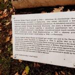 """Popiersie rotm. Witolda Pileckiego w Parku Jordana w Krakowie. (Foto. Fundacja Klubów """"Gazety Polskiej"""")"""