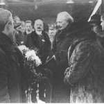 Przyjazd Ignacego Jana Paderewskiego do Poznania. Ze zbiorów Narodowego Archiwum Cyfrowego