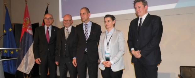 Berlin-Brandenburg: Spotkanie z Panią Premier Serbii