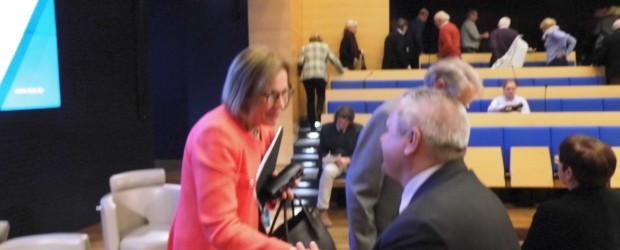 Berlin – Brandenburg (Niemcy): Spotkanie z ambasador Finlandii