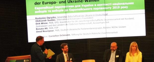 Berlin-Brandenburg: Konferencja w Berlinie o wyborach na Ukrainie w 2019 roku