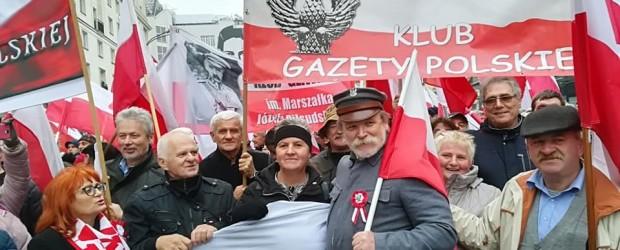 Brzozów: Obchody 11 listopada w Warszawie