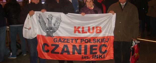 Czaniec: Uroczystości odsłonięcia Pomnika Lecha Kaczyńskiego 10.11.2018  Warszawa.