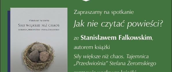 Warszawa – Zaproszenie na spotkanie ze Stanisławem Falkowskim (22 listopada godz. 18:00)