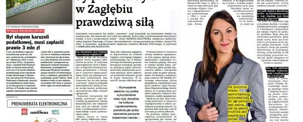 """GPC: Bardzo mi zależy, by prawica była w Zagłębiu prawdziwą siłą  (Klub """"GP"""" Sosnowiec)"""