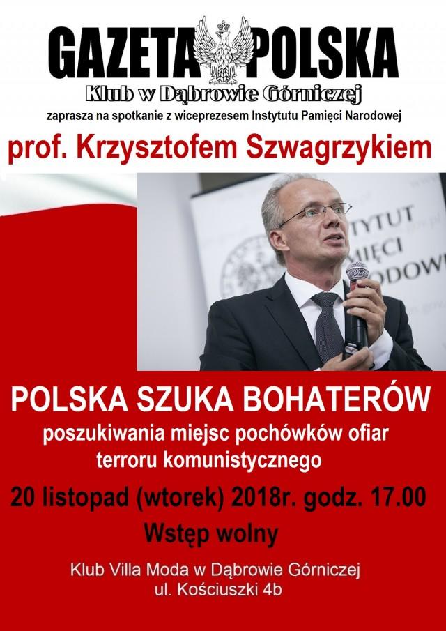 KGP spotkanie z prof. K. Szwagrzykiem