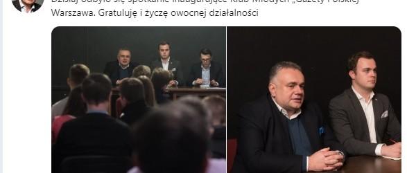 """GPC: Klub Młodych """"GP"""" Warszawa zaprasza do współpracy"""