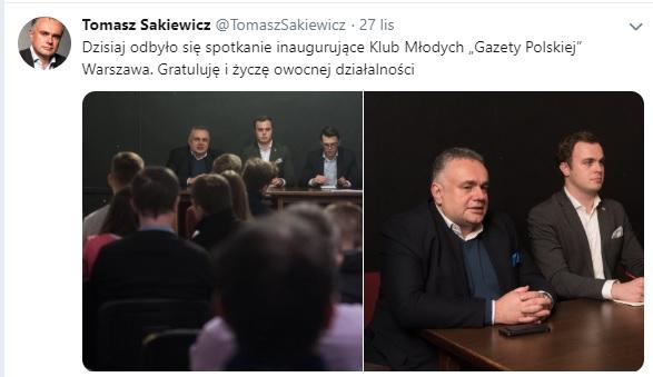 KlubMLWarszawa Sakiewicz