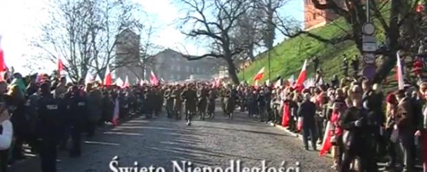 Kraków: Setna Rocznica Odzyskania Niepodległości.Krakowskie obchody.