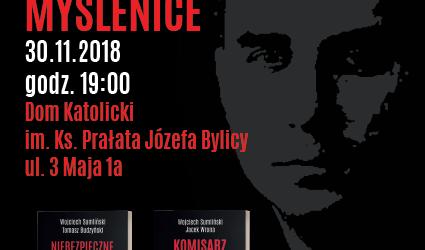 Myślenice: Zaproszenie na spotkanie autorskie z Redaktorem Wojciechem Sumlińskim (30 listopada godz. 19.00)