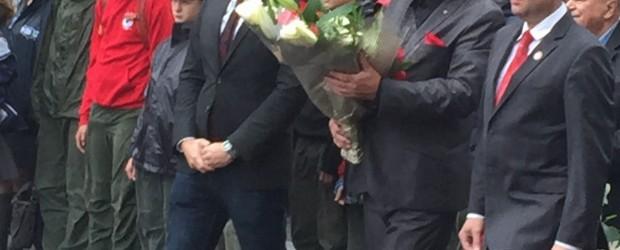 Uroczystości Pod Pomnikiem Katyńskim w Jersey City