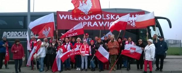 Poznań: Obchody 11 listopada w Warszawie