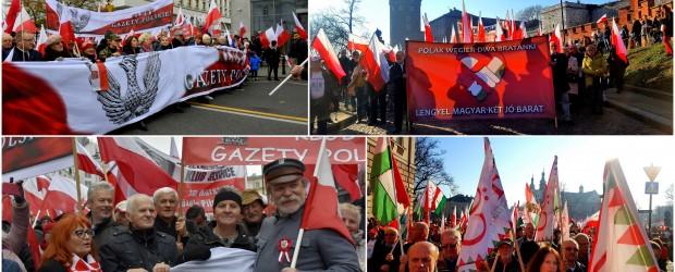 """[Tydzień w Klubach """"GP""""] Kluby """"GP"""" w Biało-Czerwonym Marszu """"Dla Ciebie, Polsko"""" + FOTORELACJA"""
