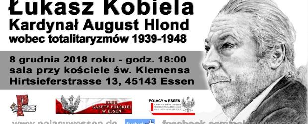 Essen: Zaproszenie na spotkanie p. Łukaszem Kobielą – 8 grudnia godz. 18:00