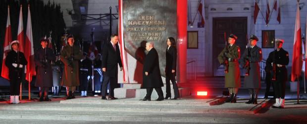 Konin: Odsłonięcie pomnika Lecha Kaczyńskiego