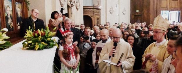 """[Tydzień w Klubach """"GP""""] Koronacja obrazu Matki Bożej Częstochowskiej w Paryżu"""