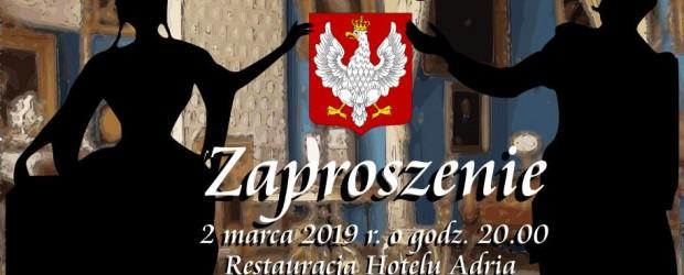 Wejherowo: Zaproszenie na  IV już Bal Wolnej Polski w Rumi. Termin zgłoszeń do 16.02.2019