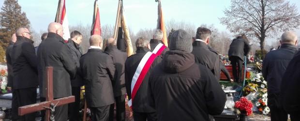 Gliwice: Pogrzeb Henryka Muzykarza, członka Gliwickiego Klubu Gazety Polskiej.