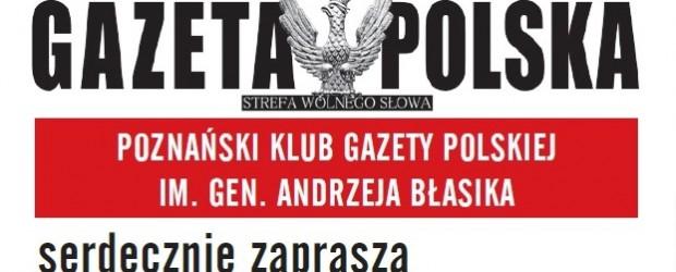 """Poznański Klub """"GP"""" serdecznie zaprasza na swoje 10 lecie, 11 stycznia"""