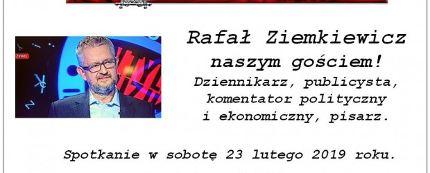 Arhus: Zapraszamy na spotkanie z Rafałem Ziemkiewiczem 23 lutego godz. 17:00