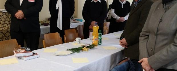 Wiedeń II: Spotkanie noworoczno-opłatkowe.