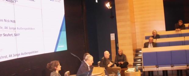 Berlin-Brandenburg: Prezentacja i spotkania w fundacji Konrada Adenauera